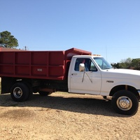Ford Super Duty Dump Truck