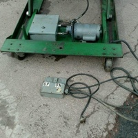 Smetco Brand Hyd Lift Table